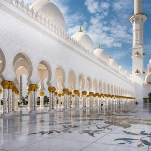 mosque, abu dhabi, travel